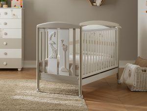 Wunderhübsches Babybett Savana mit Motiv
