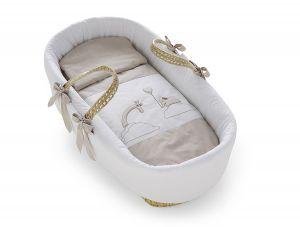 Praktischer Babykorb/ Moses-Korb Savana
