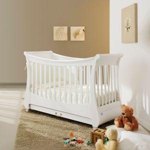 Romantisches Kinderbett Tulpe