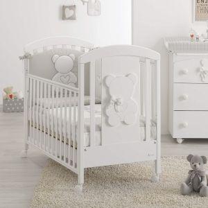 Babybett Funky mit Bären-Relief