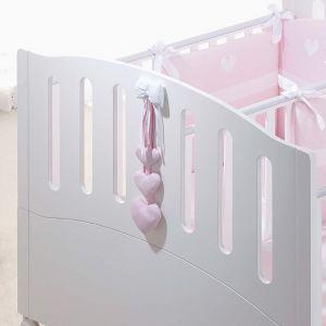 Dekoration Herzen für Kinderbett Gemini