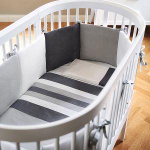 3teilige Bettgarnitur für Kinderbett Liddy